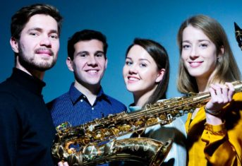 Ebonit Saxophone Quartet, a new collaboration